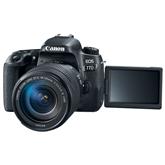 Peegelkaamera Canon EOS 77D + objektiiv 18-135 mm IS USM