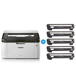 Laserprinter Brother + 5 toonerit