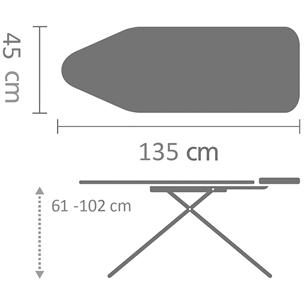 Ironing table, Brabantia (D, 135 x 45 cm)