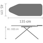 Ironing table, Brabantia / D, 135 x 45 cm