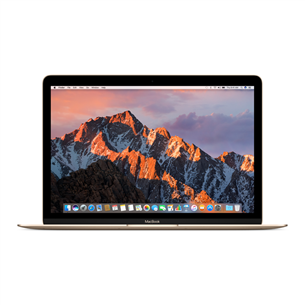 Sülearvuti Apple MacBook (2017) / 12, 256 GB, SWE