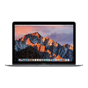 Sülearvuti Apple MacBook (2017) / 12, 256 GB, ENG
