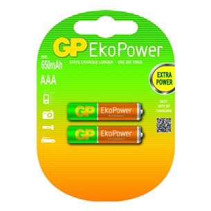 2 x AAA akud GP / 650 mAh