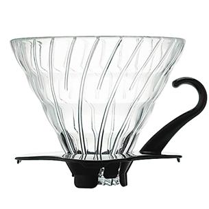 Klaasist filtrikoonus Hario V60