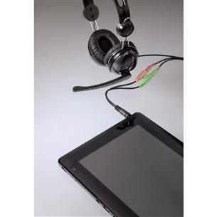 Cable 3,5mm -- 2x 3,5mm socket Hama