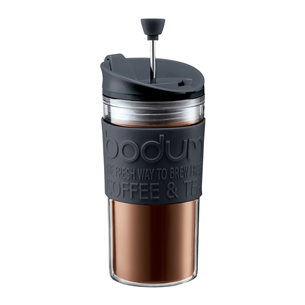 Plastikust reisikruus Bodum Travel Press 0,35 L
