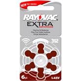 Hearing aid battery Rayovac ZA312