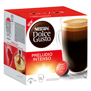 Coffee capsules Nescafe DG Preludio Intenso
