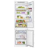 Built - in refrigerator Samsung / height: 178 cm