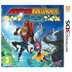 3DS mäng RPG Maker Fes