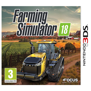 3DS mäng Farming Simulator 2018