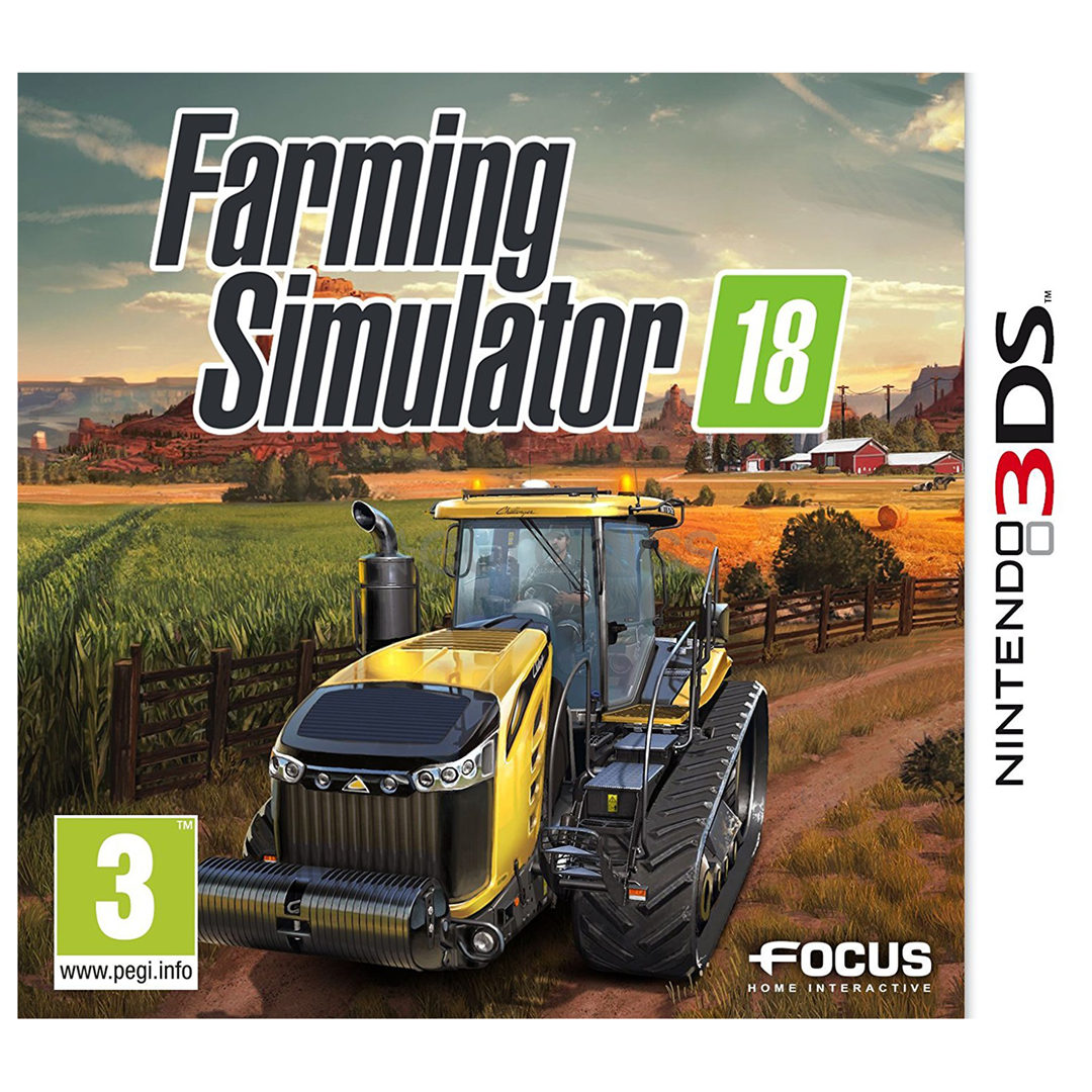 3ds game farming simulator 2018 3512899117372. Black Bedroom Furniture Sets. Home Design Ideas