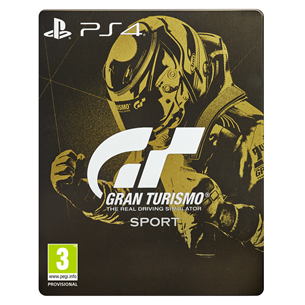 Игра для PS4 Gran Turismo Sport Steelbook Edition