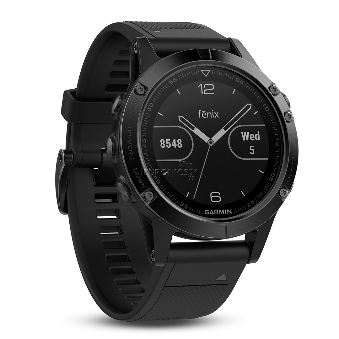 GPS watch Garmin Fenix 5 Sapphire Performer Bundle, 010-01688-32