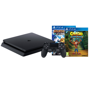 Mängukonsool Sony PlayStation 4 Slim (1 TB) + 2 mängu