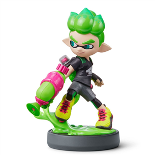 Amiibo Nintendo Splatoon Collection Inkling Boy