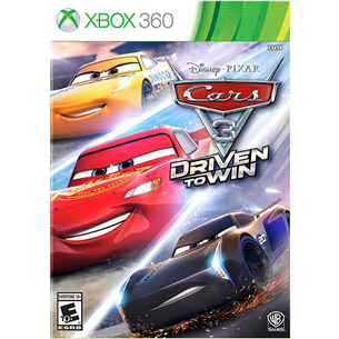 Xbox 360 mäng Cars 3: Driven to win
