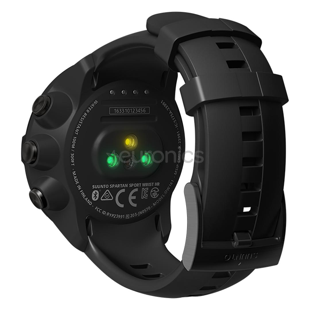 Gps Watch Suunto Spartan Sport Wrist Hr All Black Ss022662000