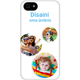 Personalized iPhone 5S/SE glossy case / Tough