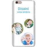 Disainitav iPhone 6 matt ümbris / Snap