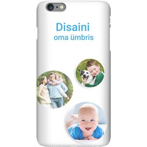 Disainitav iPhone 6 Plus matt ümbris / Snap