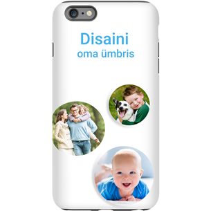 Personalized iPhone 6 Plus glossy case / Tough