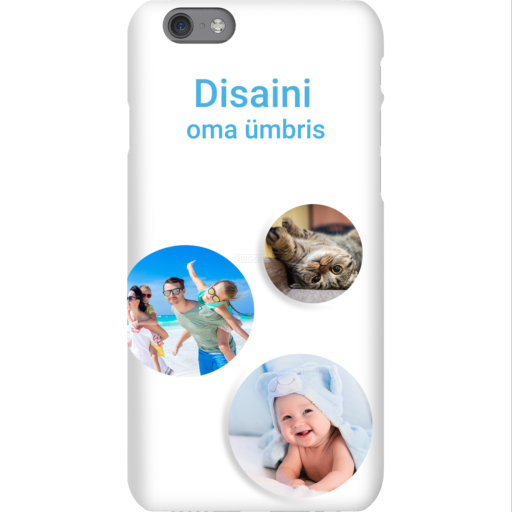 new arrival 4f938 674ab Personalized iPhone 6S glossy case / Snap