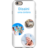 Disainitav iPhone 6S läikiv ümbris / Tough
