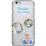 Disainitav iPhone 6/6S matt ümbris / Clear