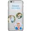 Disainitav iPhone 6/6S läikiv ümbris / Clear
