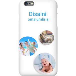 Чехол с заказным дизайном для iPhone 6S Plus / Snap (матовый)