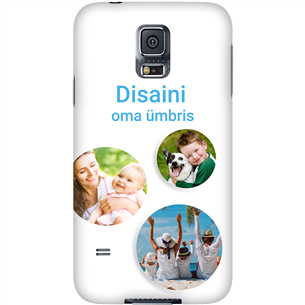 Disainitav Galaxy S5 läikiv ümbris / Snap