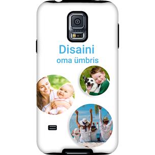 Disainitav Galaxy S5 läikiv ümbris / Tough