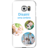 Personalized Galaxy S6 Edge matte case / Snap