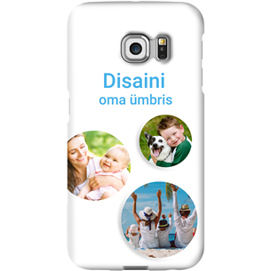 Personalized Galaxy S6 Edge glossy case / Snap