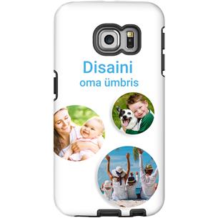 Disainitav Galaxy S6 Edge läikiv ümbris / Tough