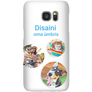 Disainitav Galaxy S7 matt ümbris / Snap