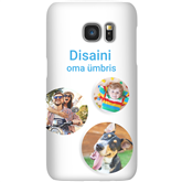 Personalized Galaxy S7 matte case / Snap