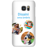 Personalized Galaxy S7 glossy case / Snap