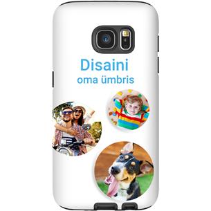 Disainitav Galaxy S7 läikiv ümbris / Tough