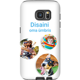 Personalized Galaxy S7 glossy case / Tough