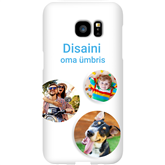 Personalized Galaxy S7 Edge glossy case / Snap