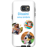 Personalized Galaxy S7 Edge glossy case / Tough