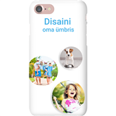 Personalized iPhone 7 glossy case / Snap