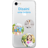 Personalized iPhone 7 glossy case / Clear