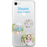 Personalized iPhone 7 matte case / Clear