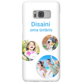 Personalized Galaxy S8 matte case / Snap