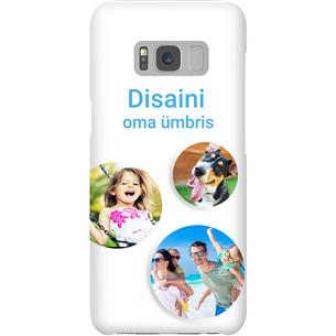 Disainitav Galaxy S8 läikiv ümbris / Snap