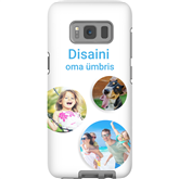 Personalized Galaxy S8 matte case / Tough