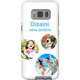 Personalized Galaxy S8 glossy case / Tough